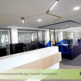 Plafond lumineux Casablanca – Colliers International
